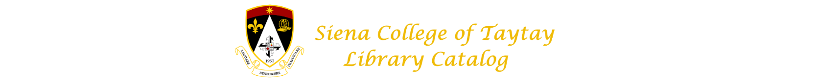 Siena College of Taytay Library Catalog